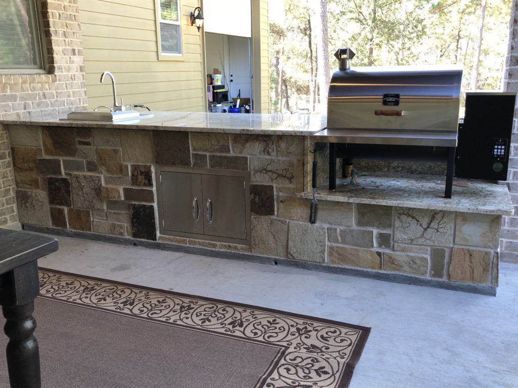 Outdoor Kitchens Pitts Spitts Smokers Grills